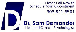 Psychologist | Parker, CO | Experienced, Compassionate Counseling Counseling Parker, CO | Dr. Sam Demander